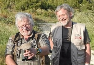 Former colleagues Bill Oddie and Joe Duckworth.